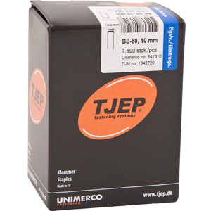 TJEP BE-80 staples 10 mm