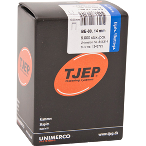 TJEP BE-80 staples 14 mm